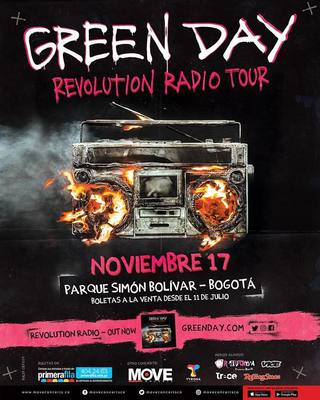 Afichegreenday 2